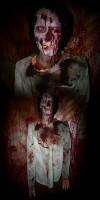New 2011 Hanging Male Zombie Torso Prop