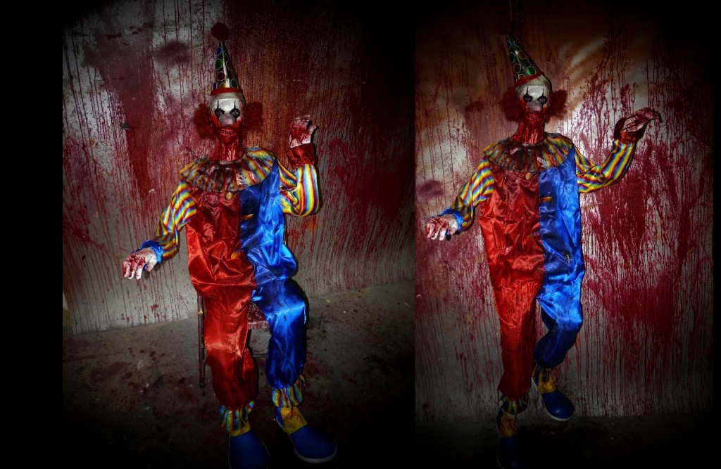 New 2011 Positionable Krank-e Clown Prop