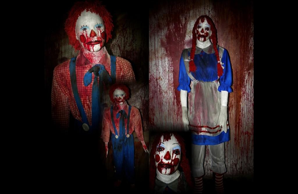 New 2011 Killer Raggy Randy and Ratchel Set