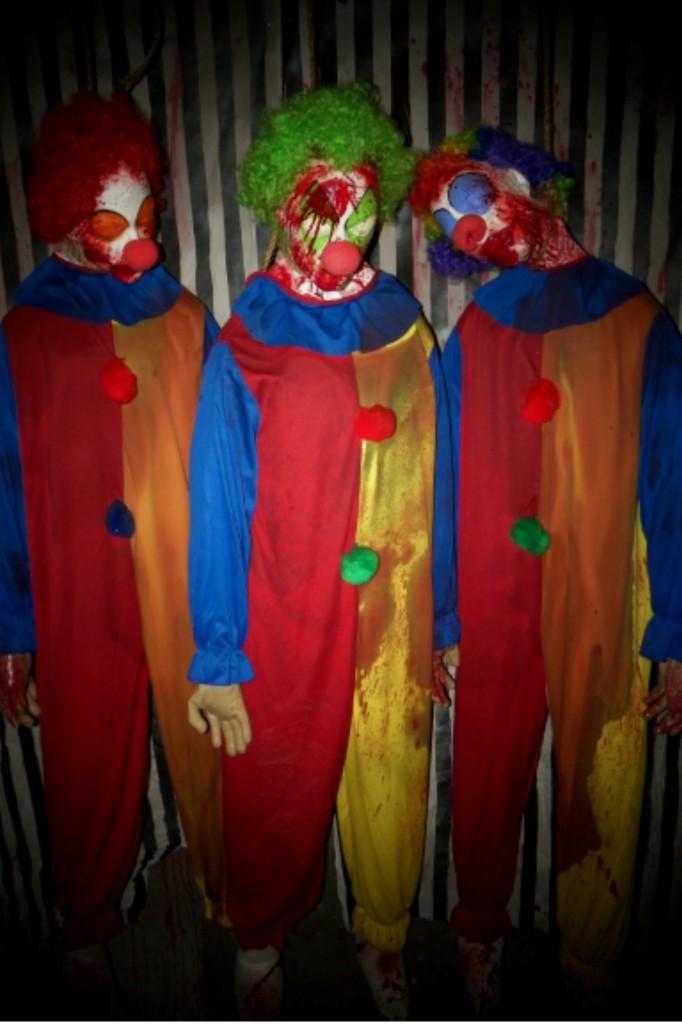 BUDGET Halloween Prop Life Size CLOWN dead Body 10 Body Bundle deal