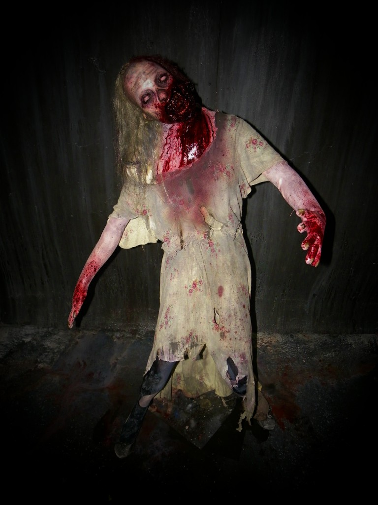 Premium Life Size Zombie Horde Zombie Lurching Lilly