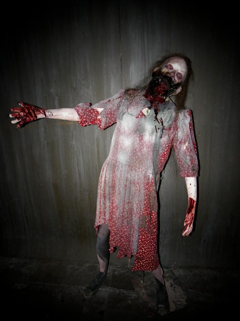 Festering Felicia Zombie Horde Premuim Prop