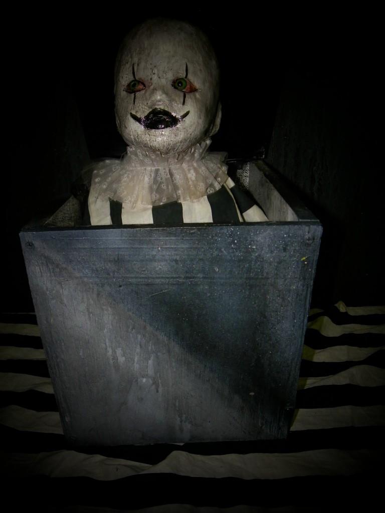 Little jack Electric Animatronic Jack in Box