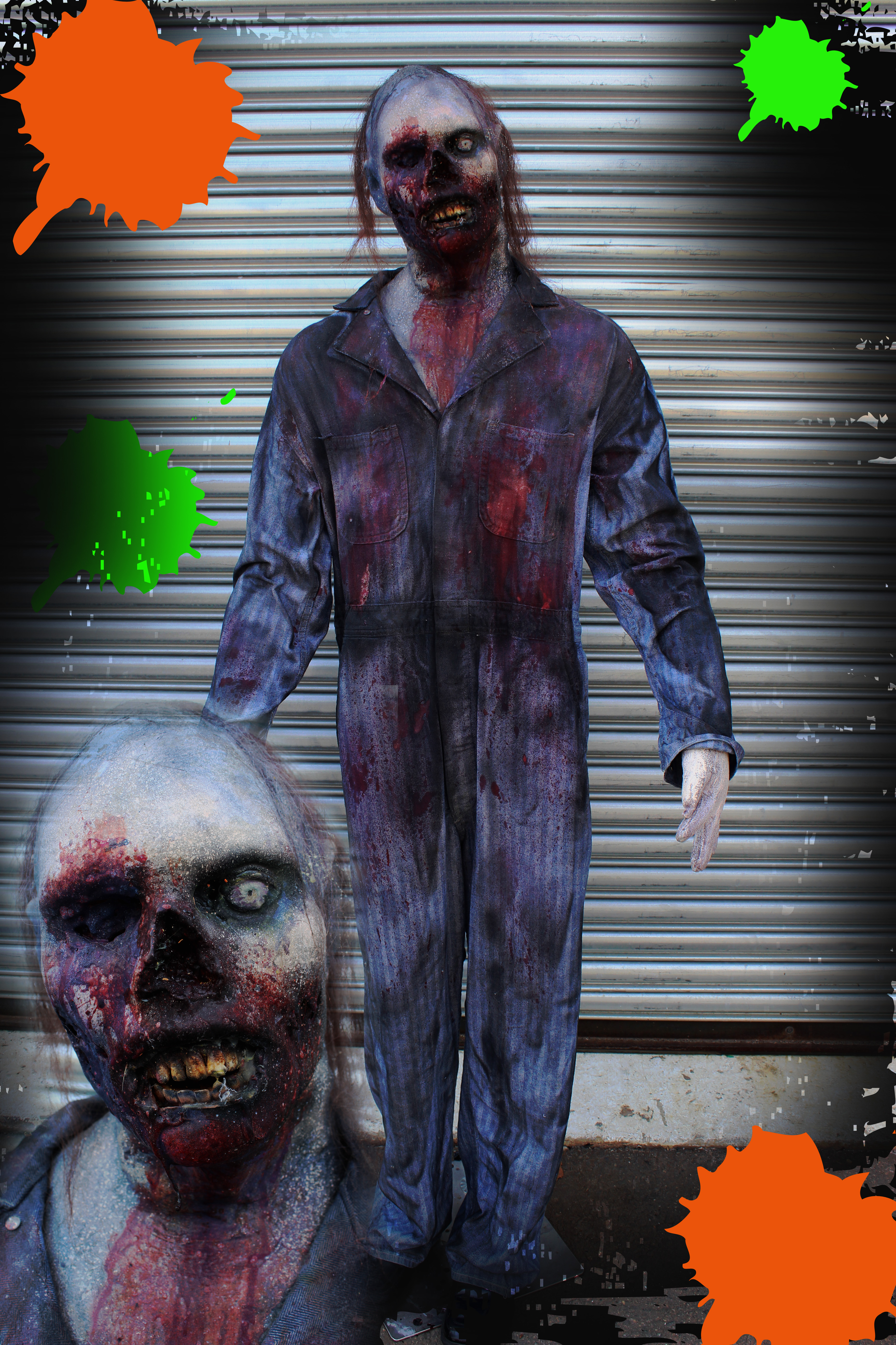 Paintball Zombie Props Male #1