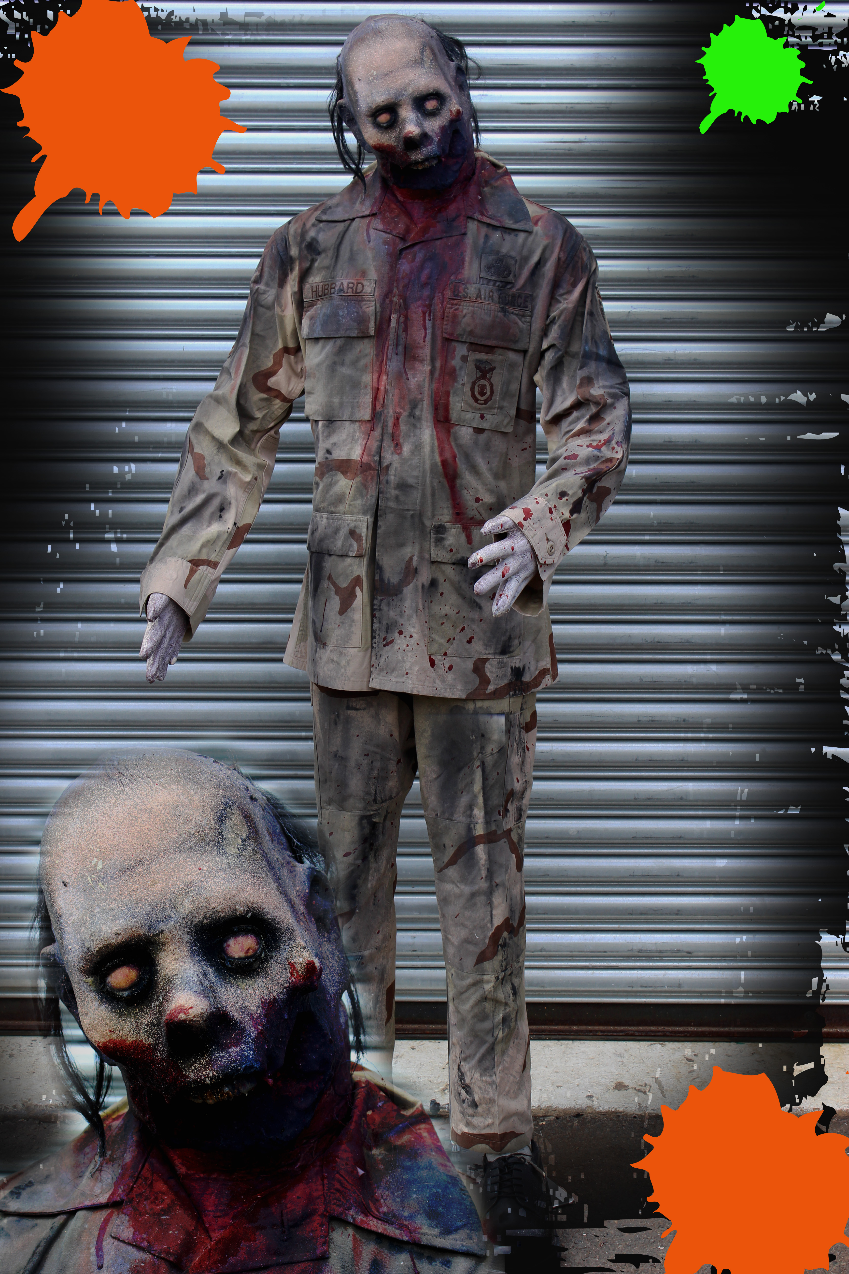 Paintball Zombie Prop male #2