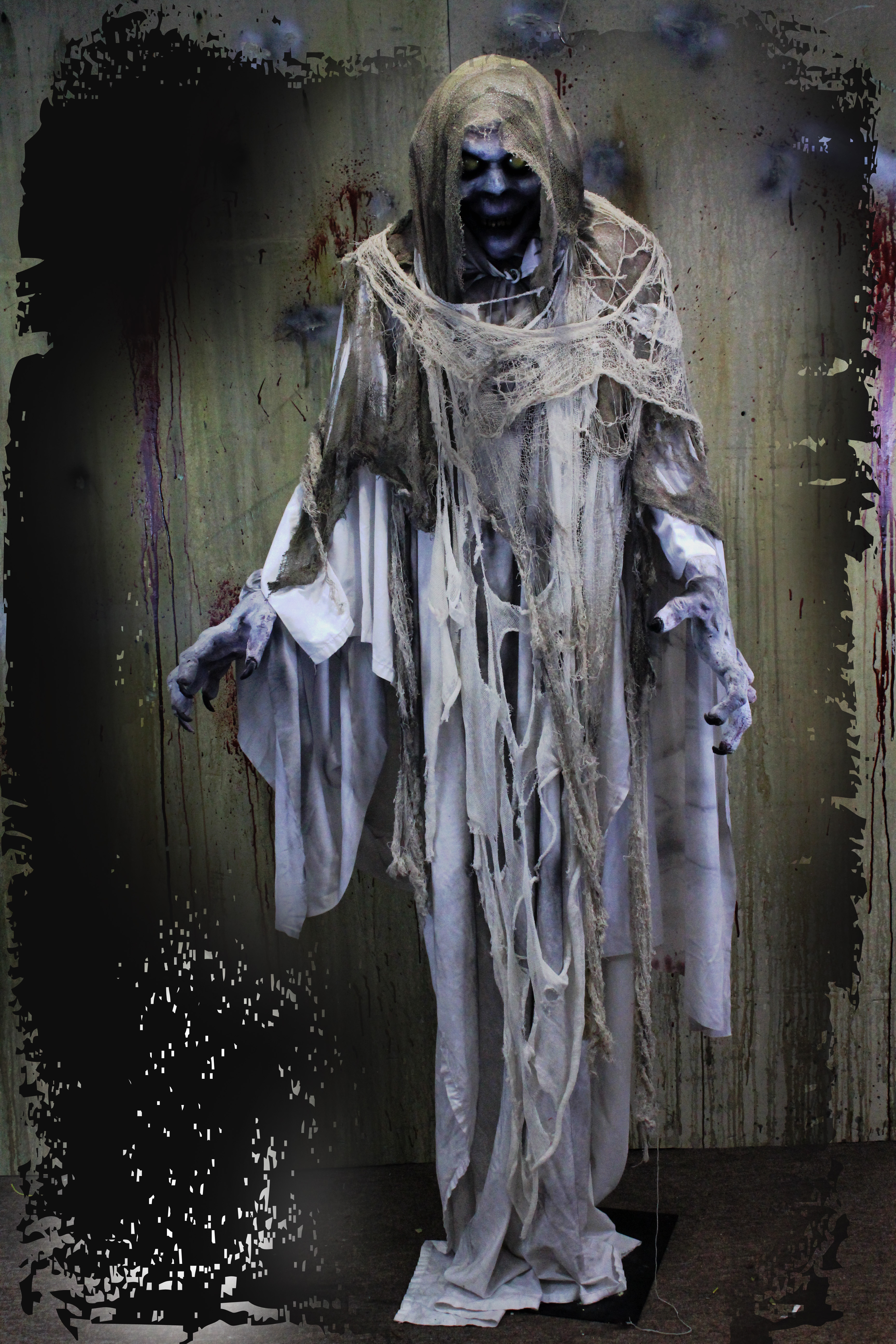 7ft Ghost Haunted House Prop