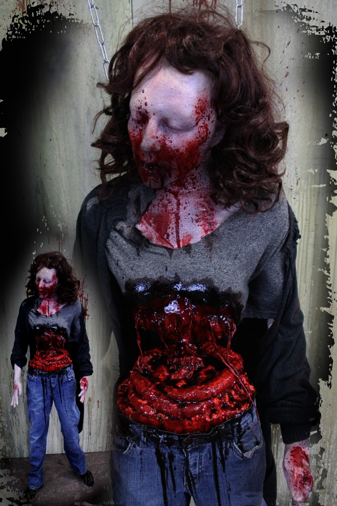 2016 BLOODY HANGING GRIMY GUTS GIRL