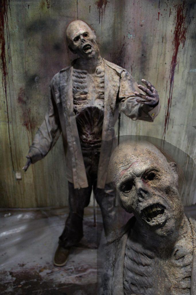 New 2017 Zombie Walker Halloween prop Sandpile Male