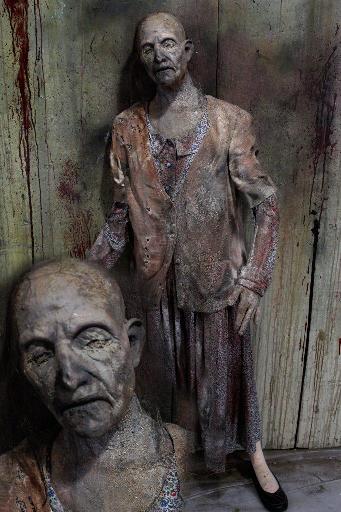 New 2017 Zombie Walker Halloween prop Sandpile Female