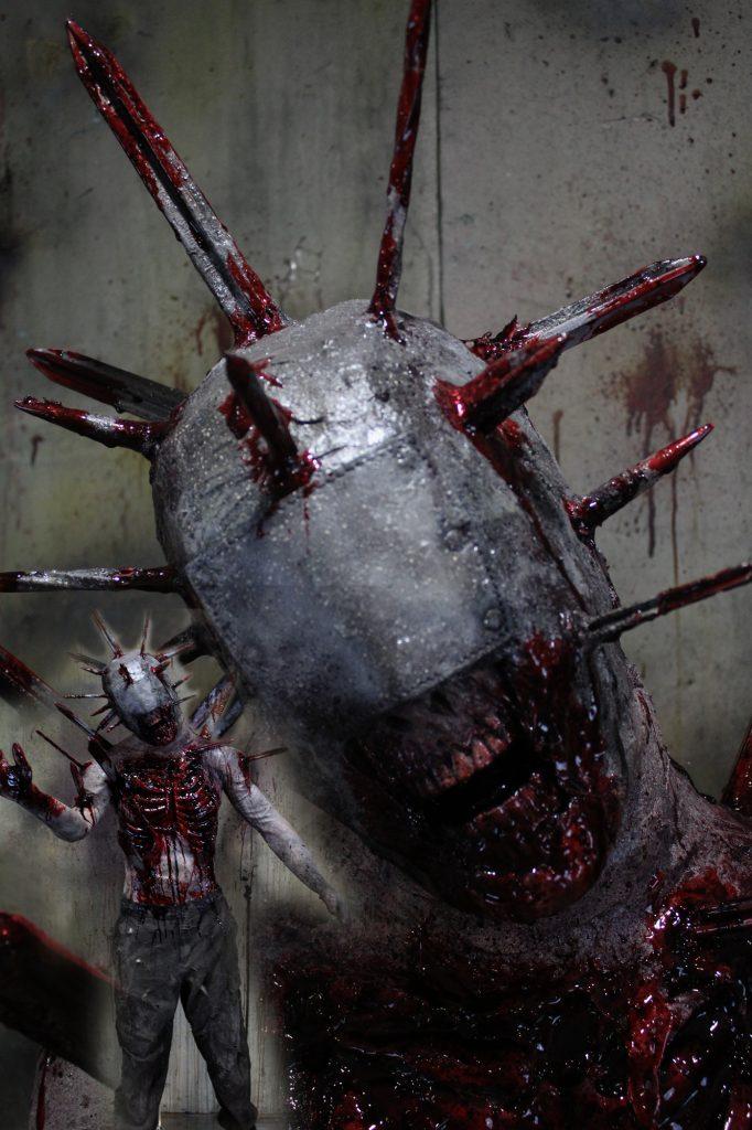 New 2017 Zombie Walker Halloween prop Pin Cushion Zombie