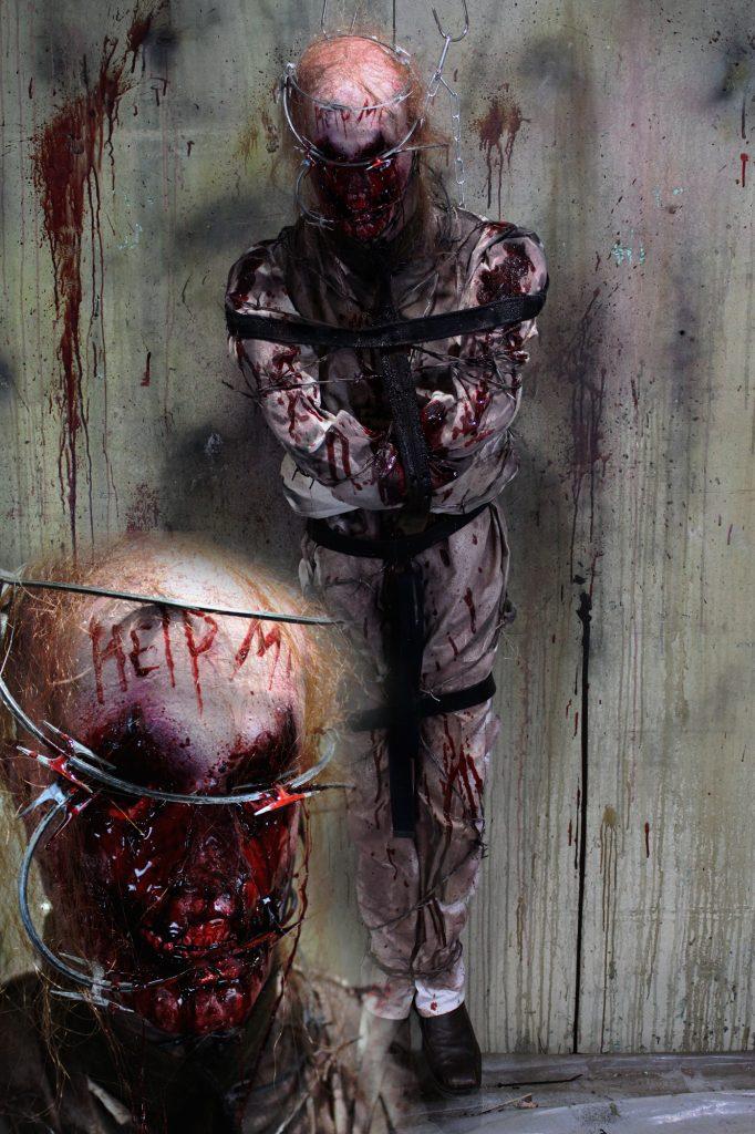 New 2017 Dead Body Halloween Prop Help Me