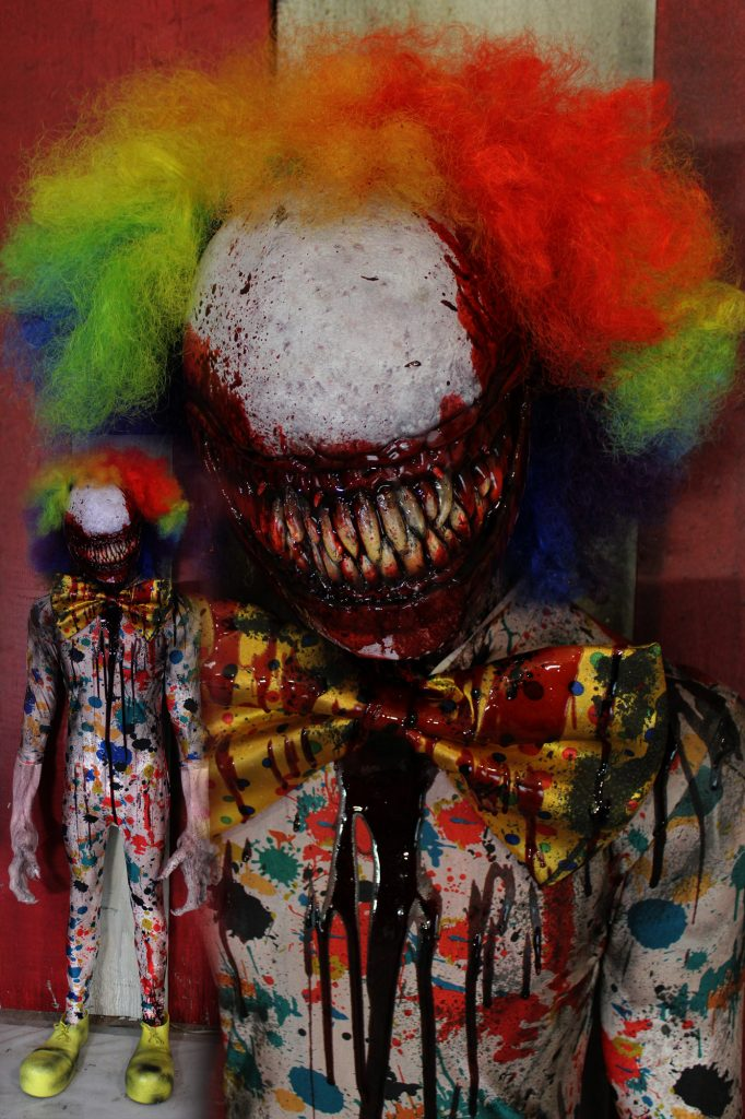 New 2017 Scary Clown Halloween Prop Smile Daddy