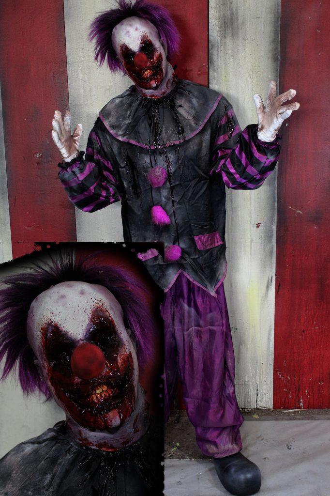 New 2017 Scary Clown Halloween Prop Shambles