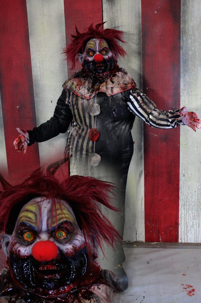 New 2017 Scary Clown Halloween prop Chubby Chub Chub