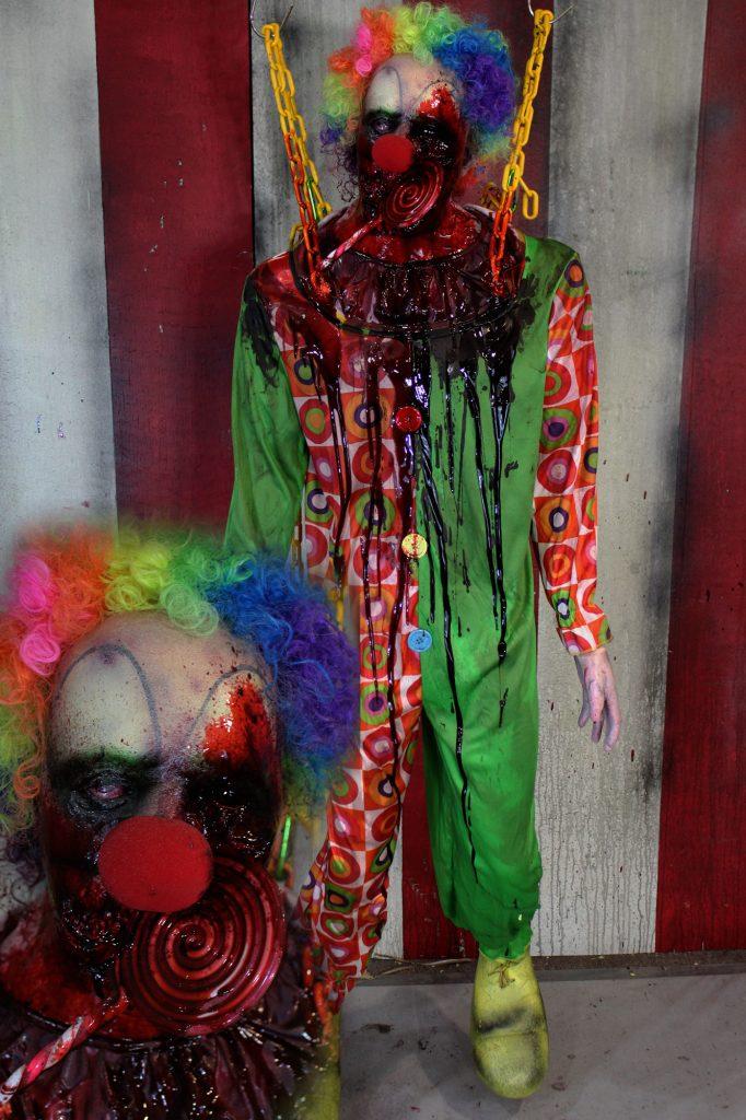 New 2017 Scary Clown Halloween Prop Jawbreaker