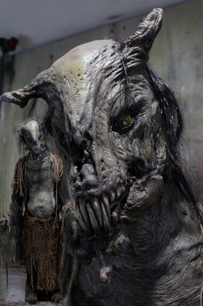 New 2017 Creature Halloween Prop the Hob Goblin