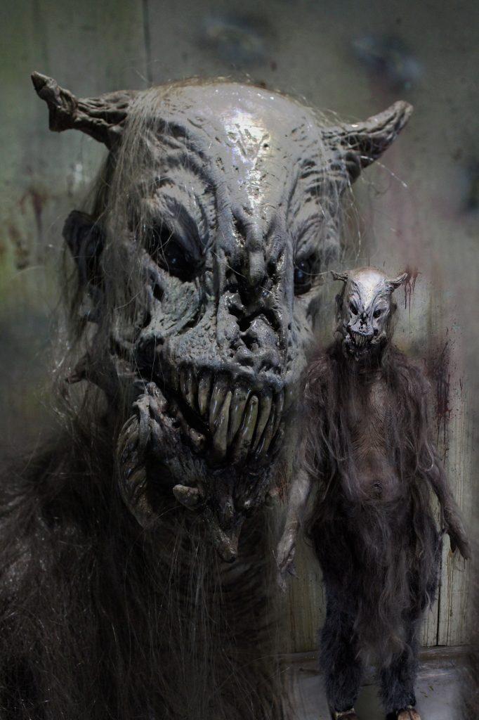 New 2017 Creature Halloween Prop The Legendary GOAT MAN