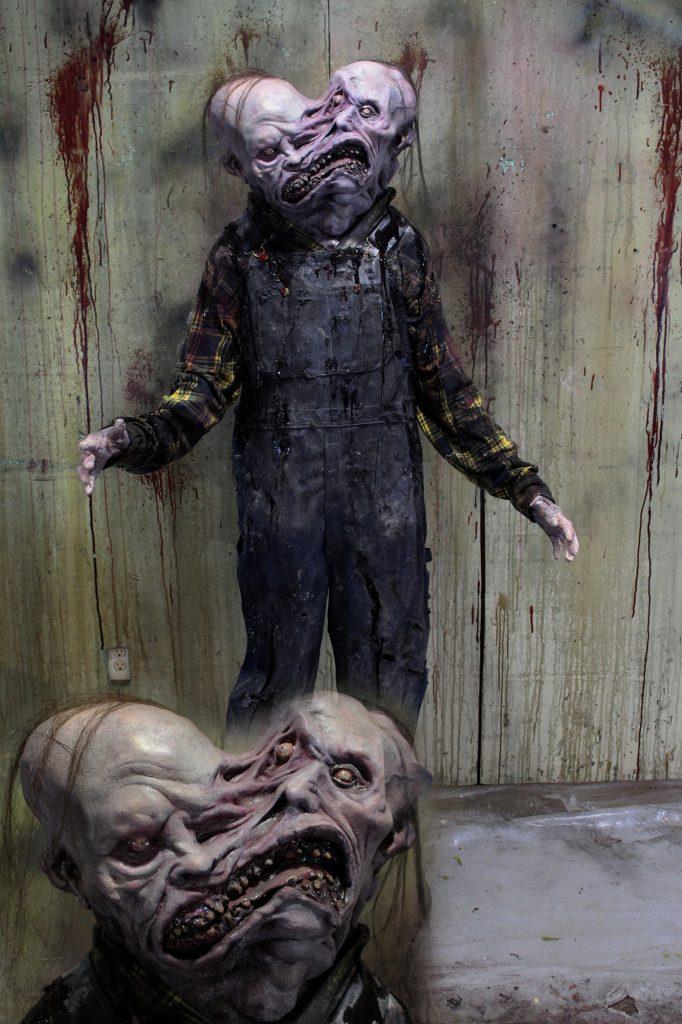 New 2017 Mutant Halloween Prop Double Head Wee–Zar