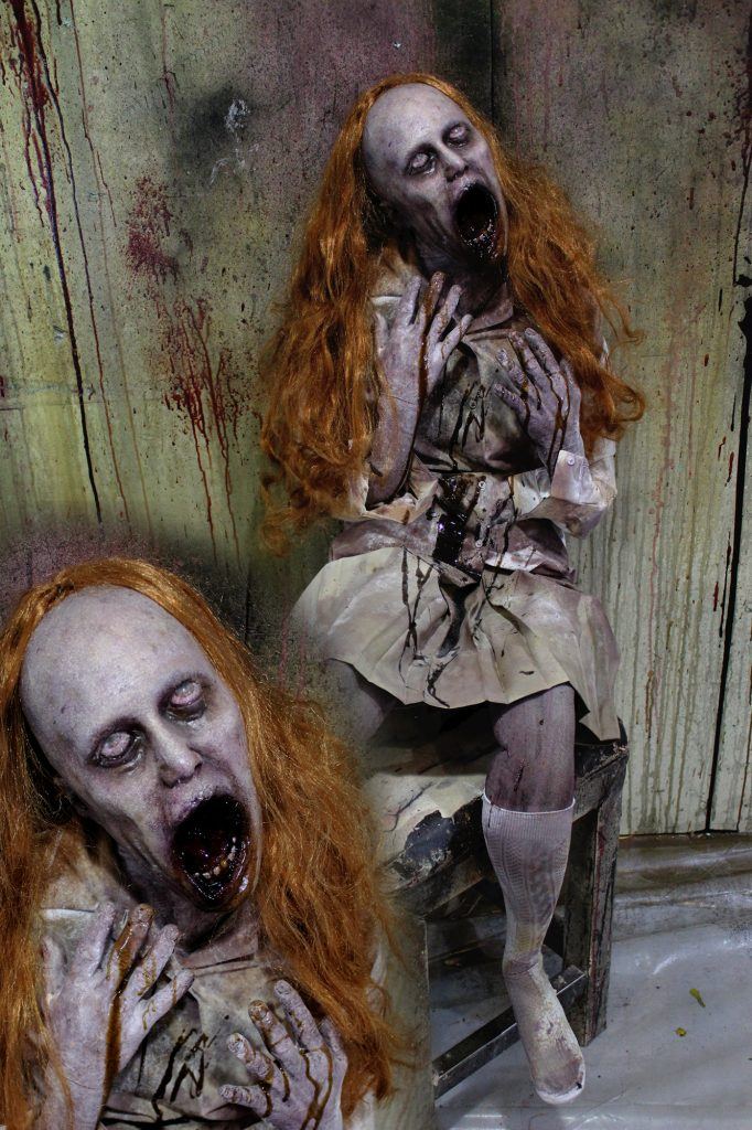New 2017 Halloween Victim prop Scared To Death