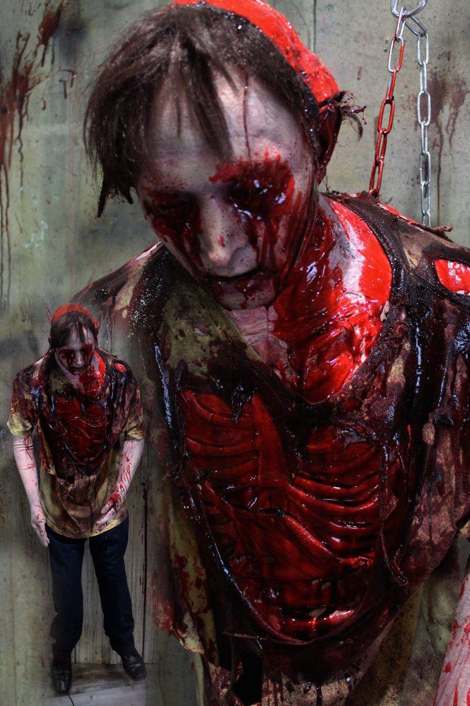 New 2017 Dead Body Victim Halloween prop Flayed Phil
