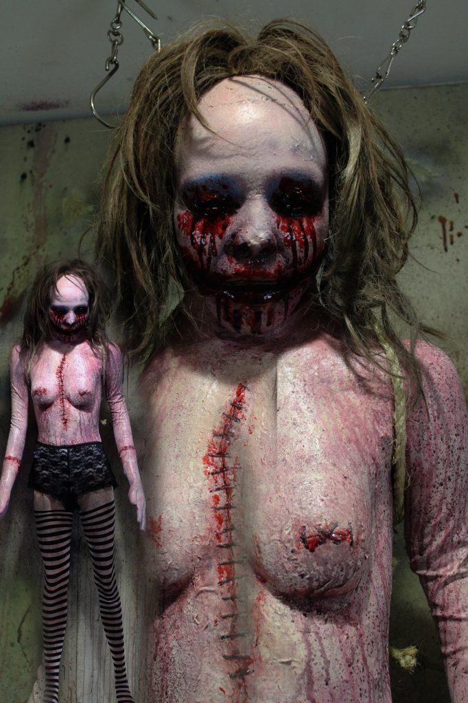 New 2017 Dead Body Doll Victim Bloody Halloween prop