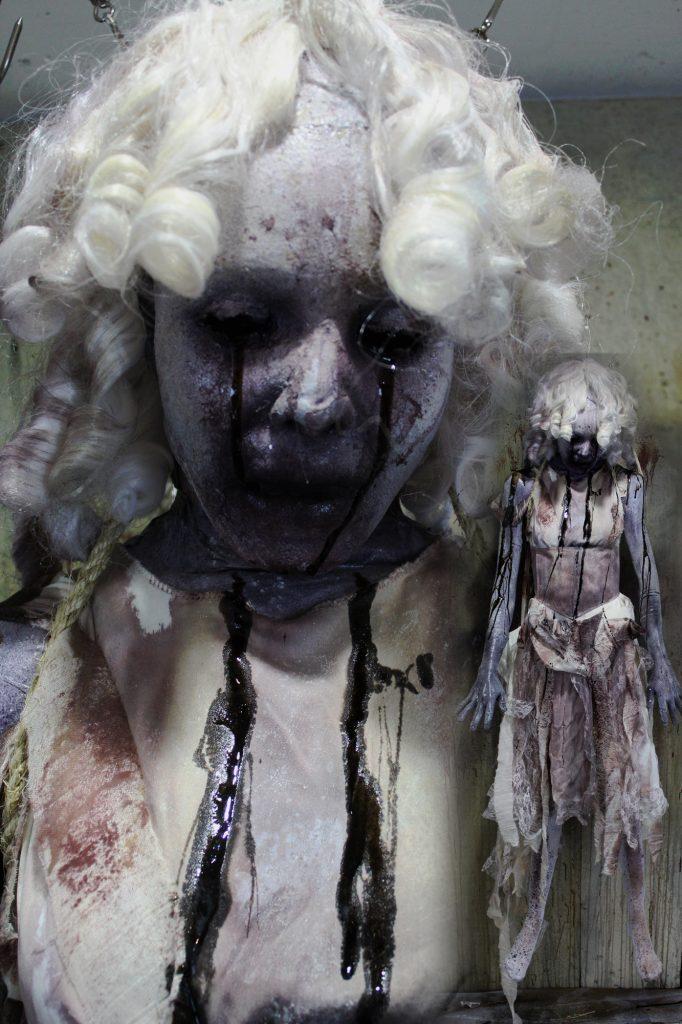 New 2017 Dead Body Doll Victim Halloween prop Porco-leina