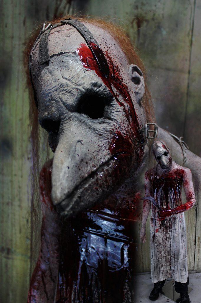 New 2017 Killer Medical Halloween prop the Plague Doctor