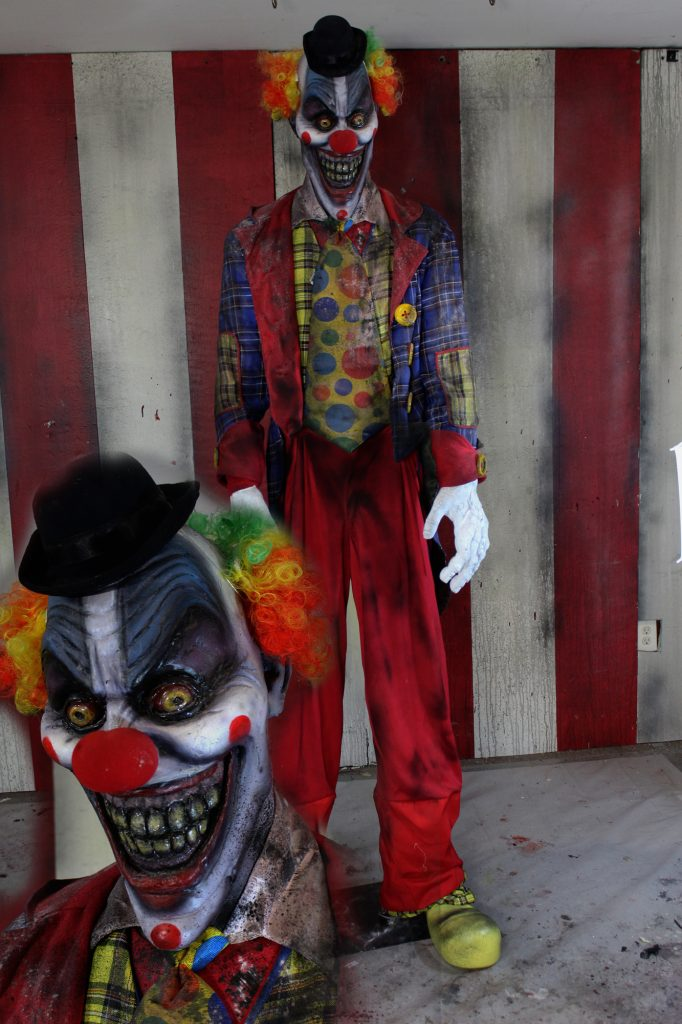 New 2017 7ft Scary Clown Halloween Sinister Smile