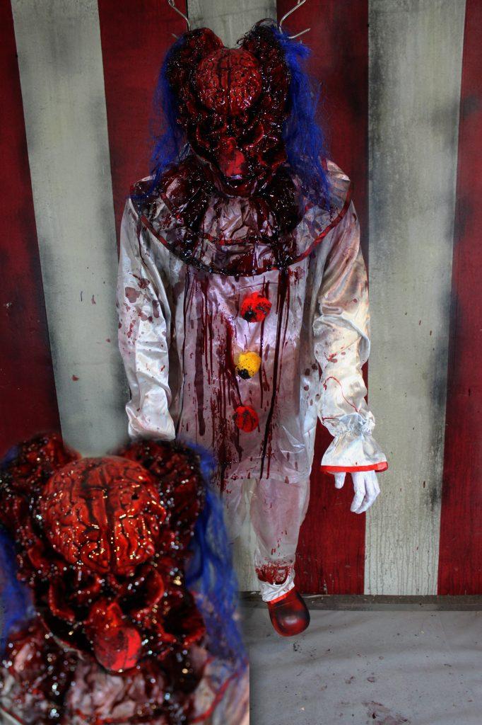 New 2017 Dead Clown Halloween prop Bash your Brains in Clown