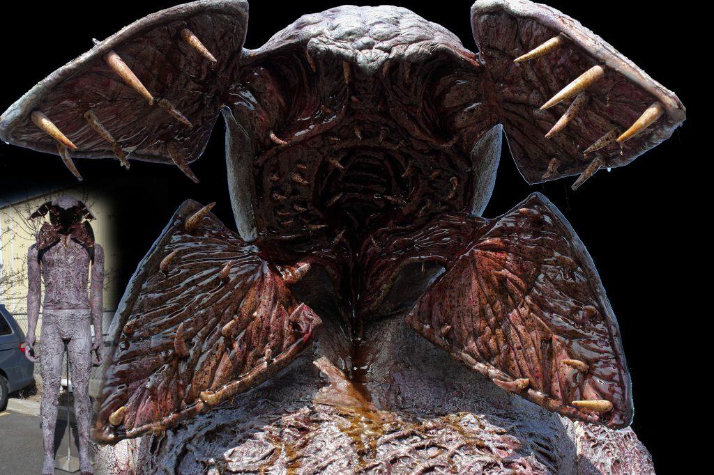New 2017 Giant 9ft Creature Halloween prop Underside Gorgon