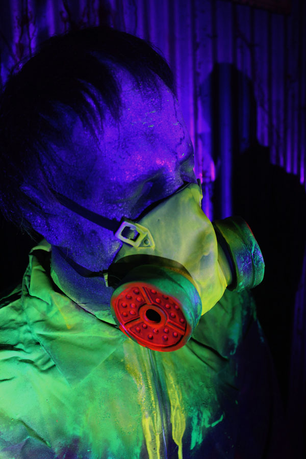 3D UV  Toxic Mutant Halloween Props 3PacK