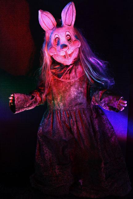 Terror Tot Velvitina Rabbit Doll
