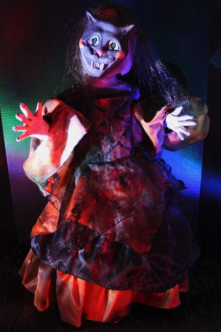 Terror tot Doll Cat Doll