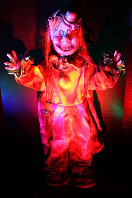 Terror Tot Peddles clown