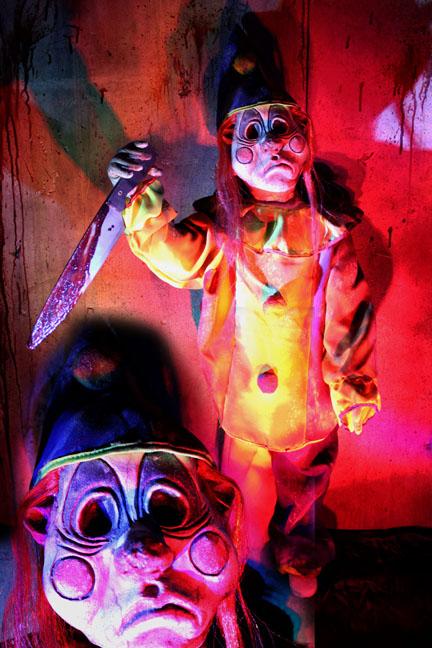 Terror Tot Tricks No Treat clown