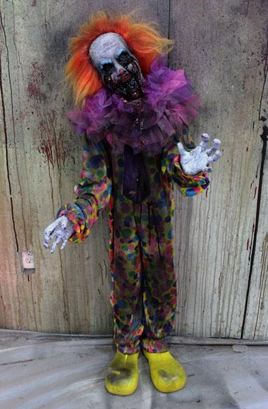 New 2018 Halloween Haunted House prop Demon Clown Kid