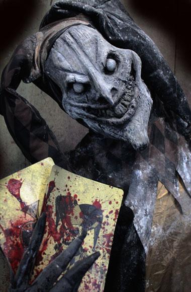 New 2018 Halloween Haunted House Prop Evil Jester