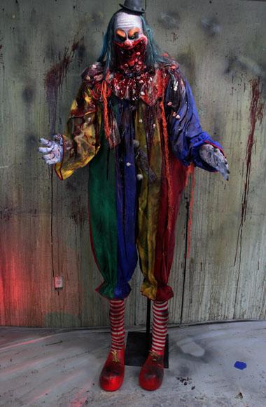 New 2018 Halloween Haunted House Prop Fatty clown
