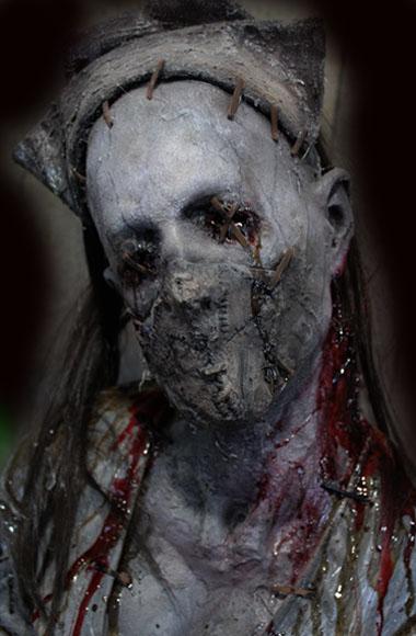 New 2018 Halloween Prop Haunted House Nurse Stitches