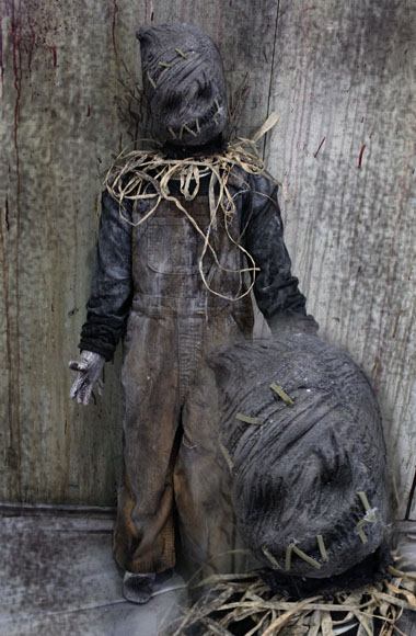 New 36″ Halloween haunted house prop evil little doll Sacky