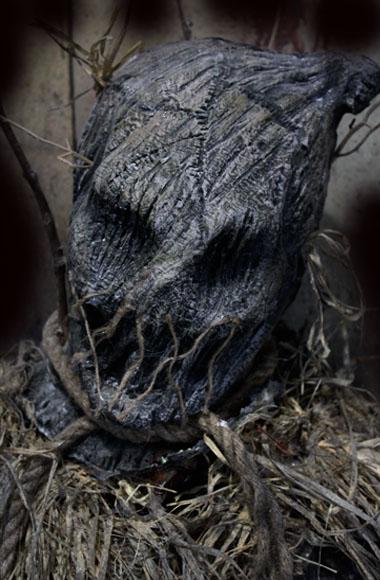 New 2018 Halloween Haunted House prop Woodscrow scarecrow