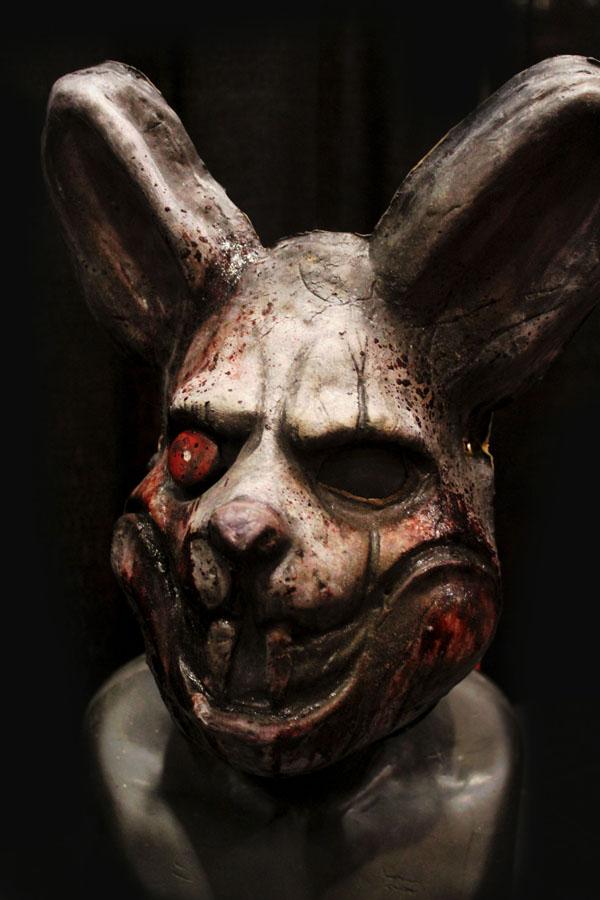 Bad Bunny Haunted Actor halloween mask
