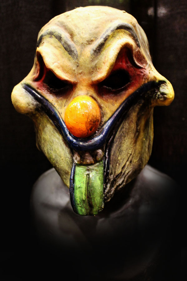 Tongues clown Haunted House Actor Halloween Mask Inverse