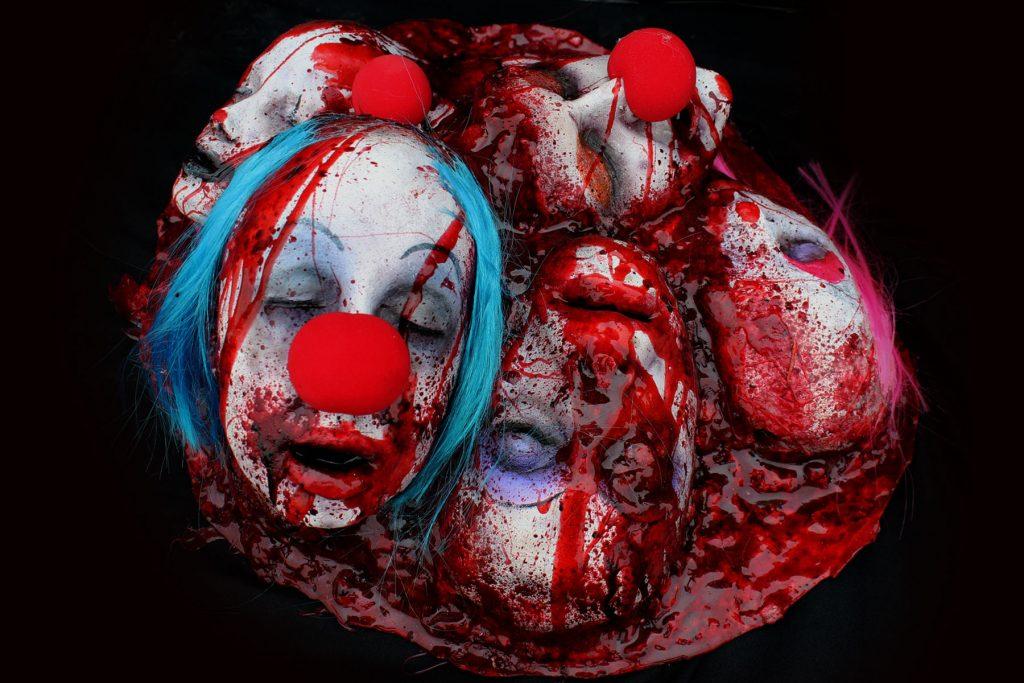 Gore Pile Clown Halloween Gore prop
