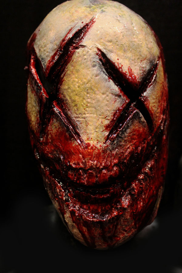 Have a bad day yellow Haunted House Actor Halloween Mask