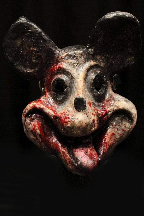 Menace Mouse mask Haunted House Actor Halloween Mask