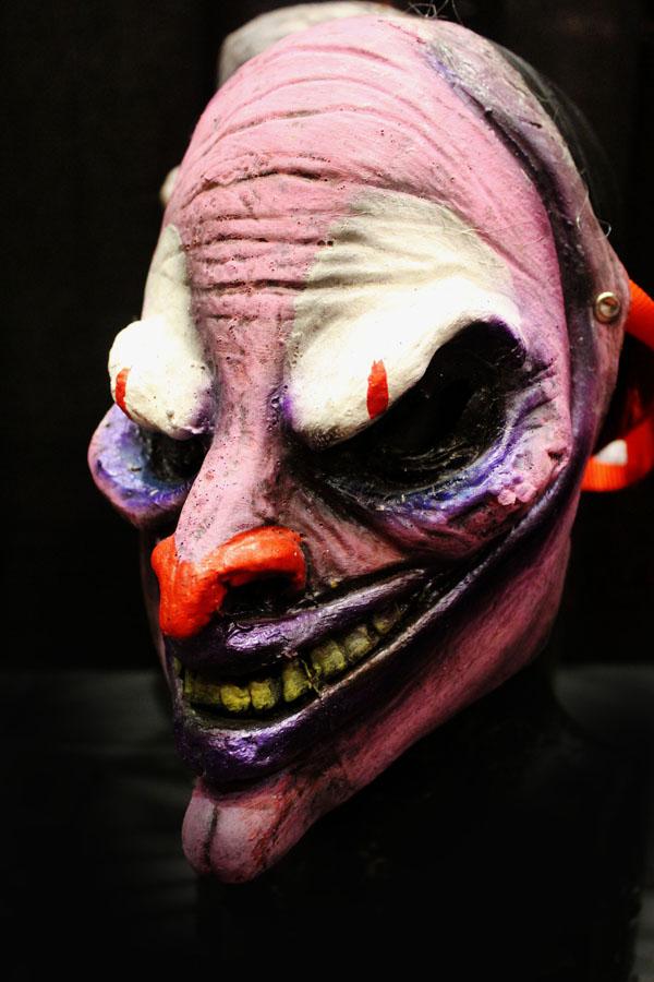 No Jokes clown Inverse Edition mask Haunted House Actor Halloween Mask