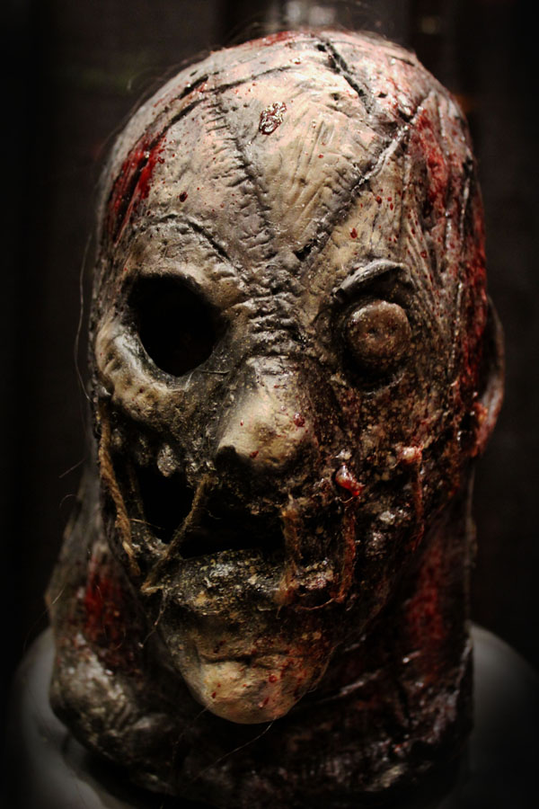 Rotten face mask mask Haunted House Actor Halloween Mask