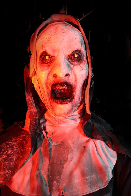 2019 Halloween prop Nun Val -ik Flex prop Open mouth