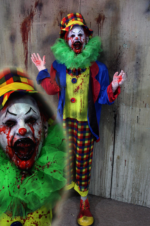 New 2019 Halloween Haunted House Prop Meyer crier clown